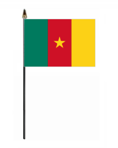 Cameroon Country Hand Flag - Small.